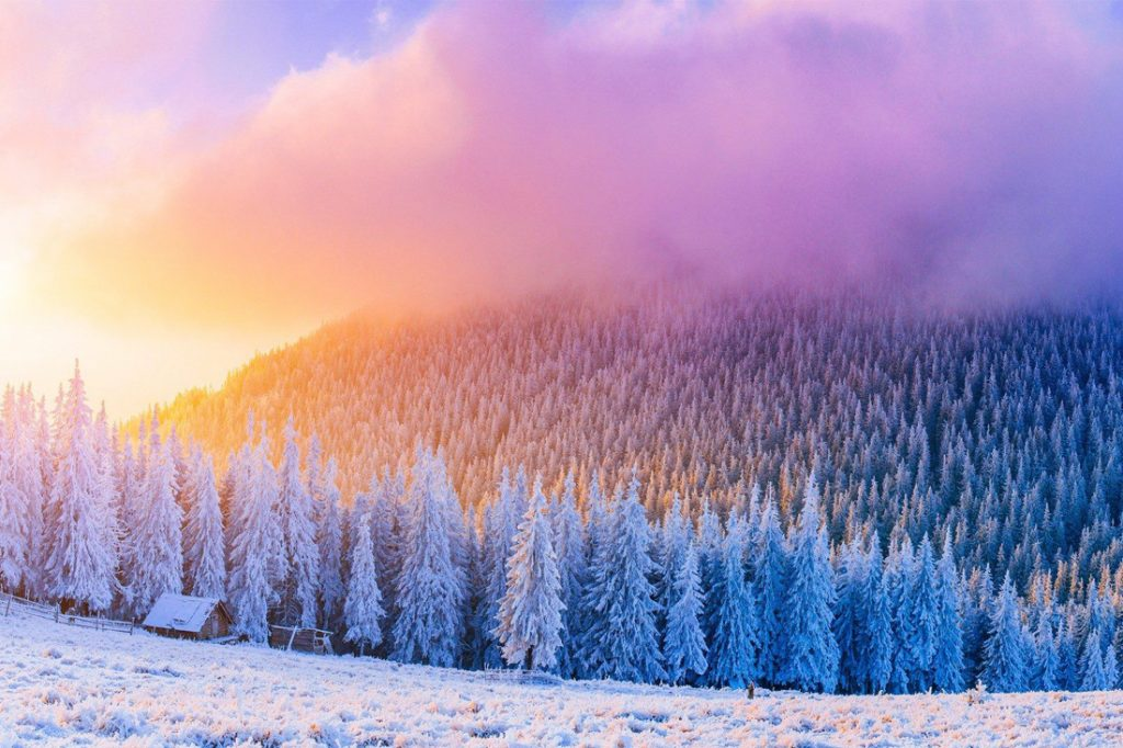 THE MOST BEAUTIFUL PLACES TO VISIT THIS WINTER IN THE US